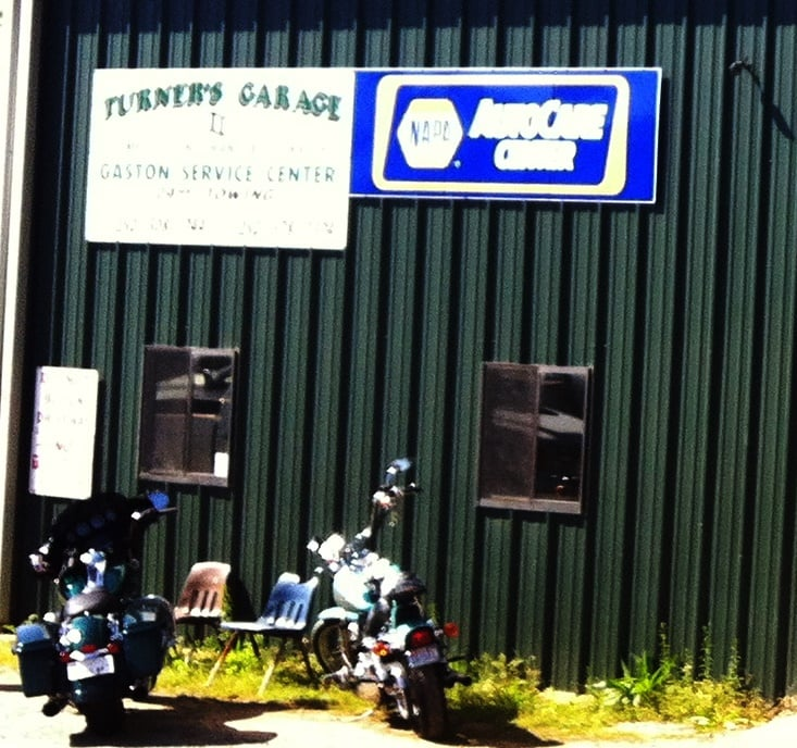 Turner's Garage: 615 Garysburg Rd, Gaston, NC
