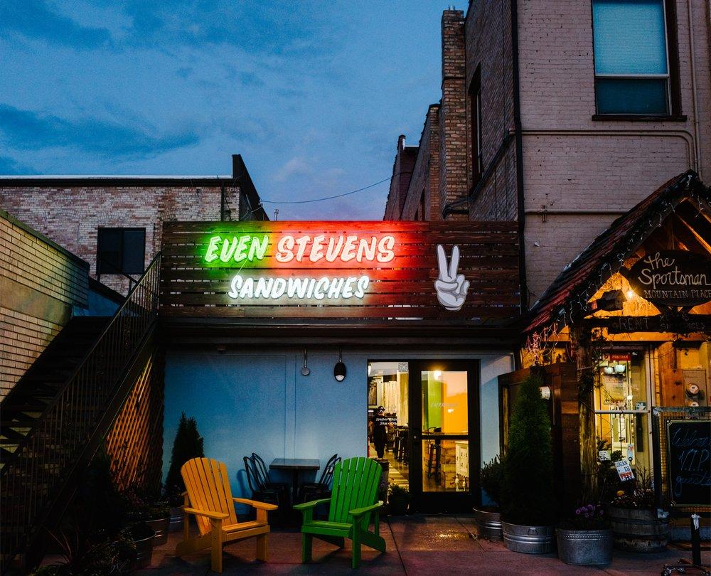 Even Stevens Sandwiches: 131 N Main St, Logan, UT