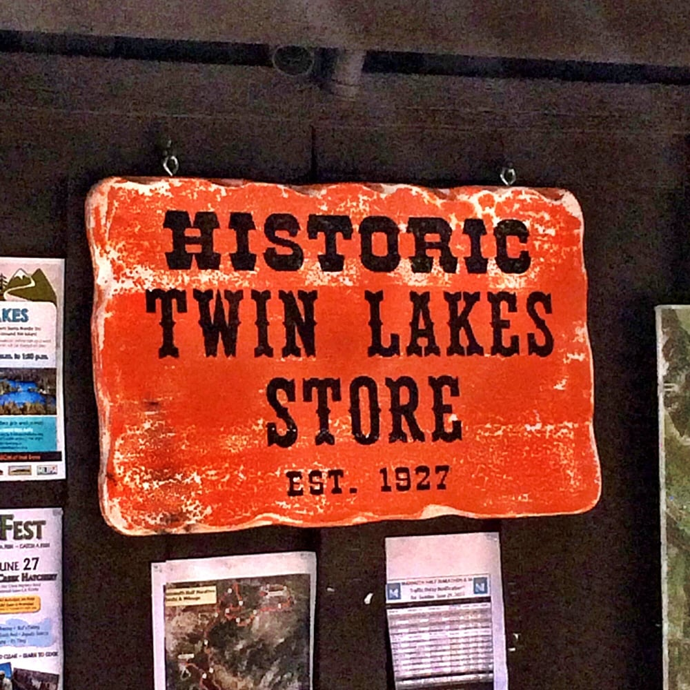 Twin Lakes General Store: 518 Twin Lakes Rd, Mammoth Lakes, CA