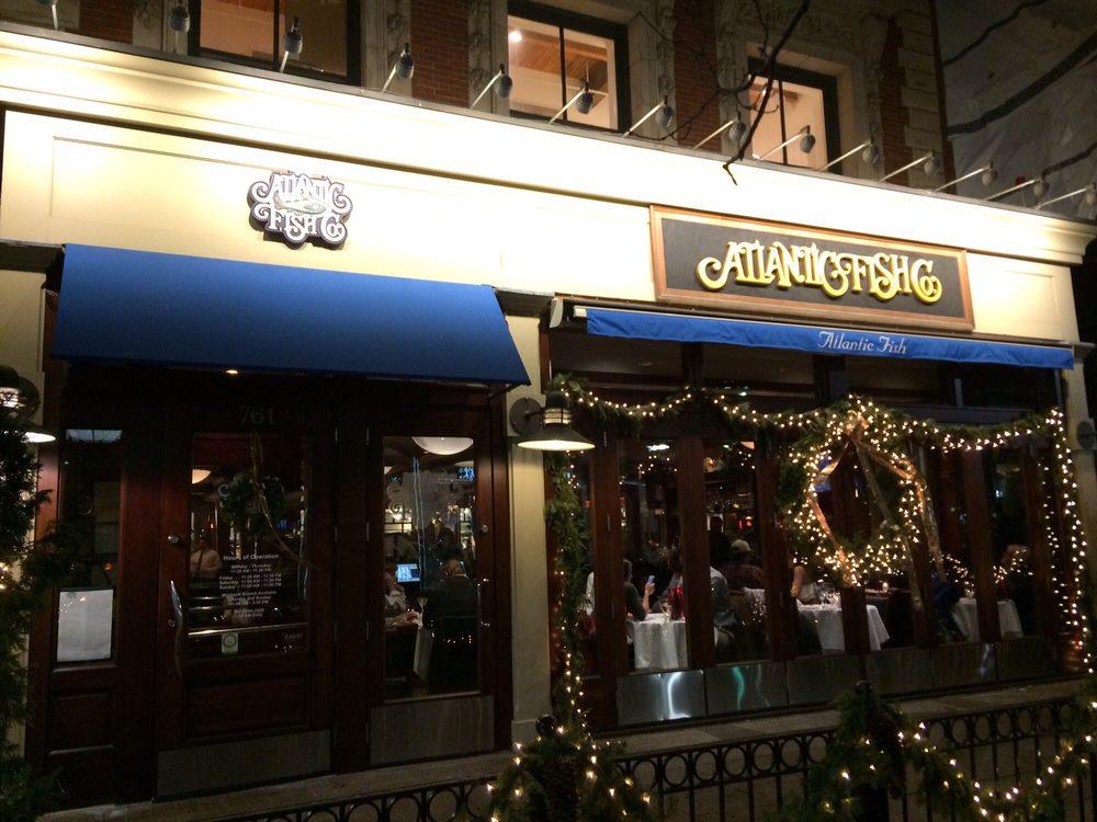 Outside of the restaurant 2016 12 21 yelp for Atlantic fish company boston ma