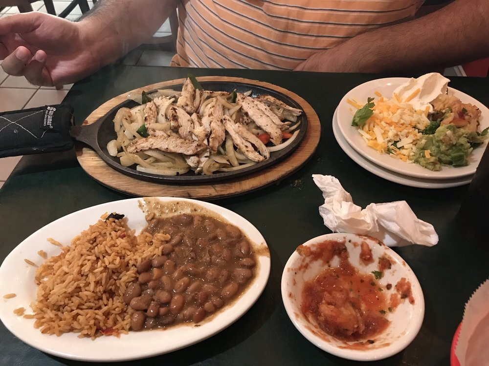 Food from Tampico Grill