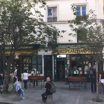 Caf Ef Bf Bd Shakespeare Paris
