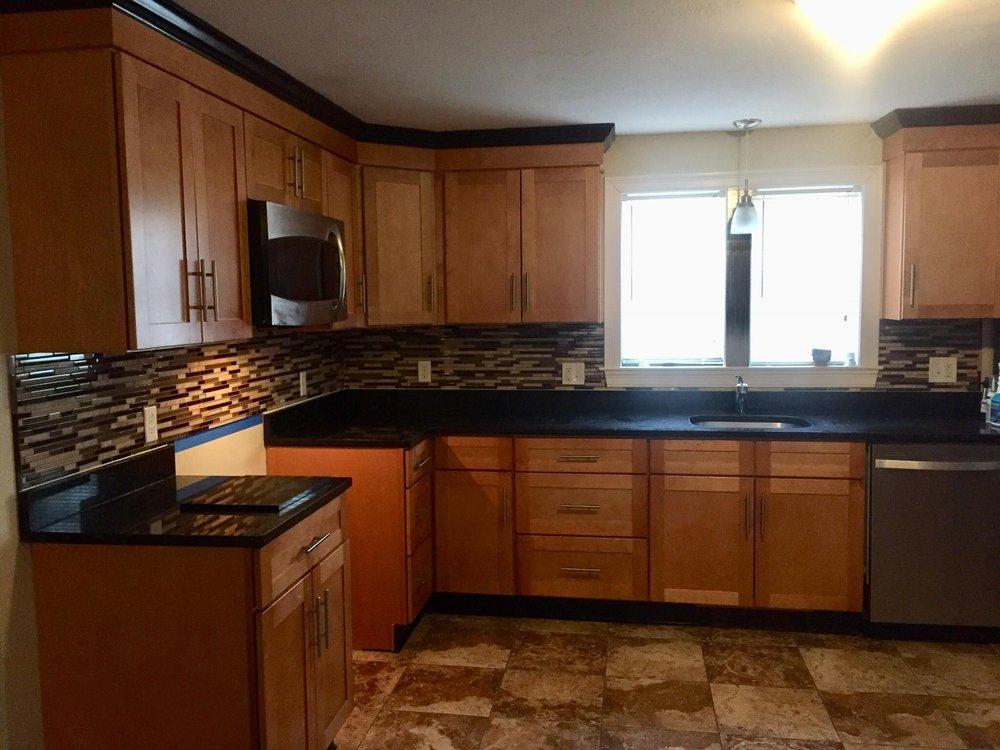 Kitchen cabinets refurbished - Yelp