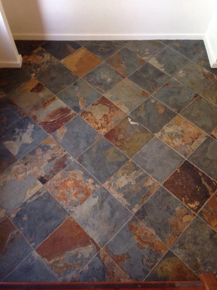 Slate Tile Foyer : Slate tile entryway design ideas