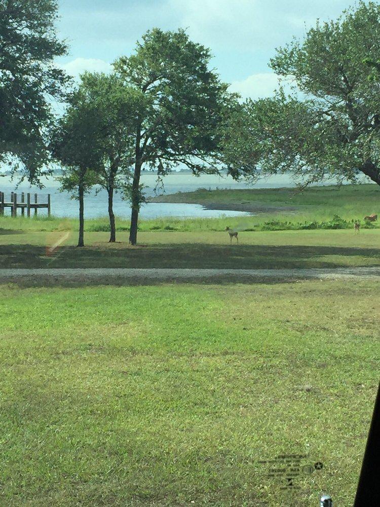 Brackenridge Park & Campground: 891 Brackenridge Pkwy, Edna, TX