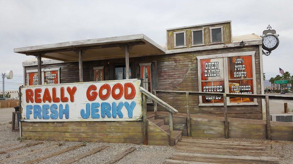 Daniel's Really Good Fresh Jerky: 1124 S California Ave, Parker, AZ