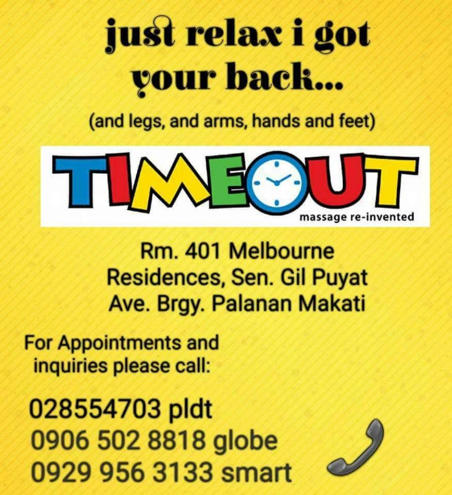 Photo of Timeout Massage Makati - Makati, Metro Manila, Philippines