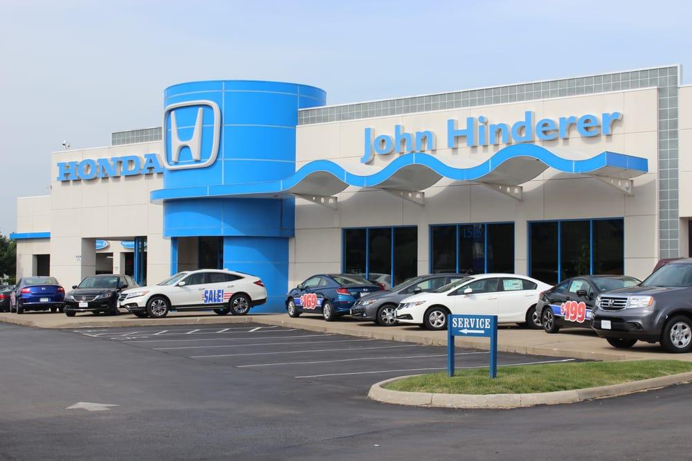 John hinderer honda car dealers 1515 hebron rd heath for Honda dealer phone number