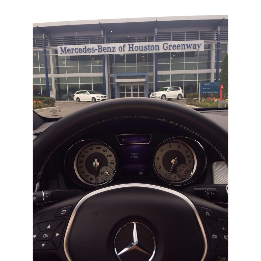 Yessss yelp for Mercedes benz of greenway houston