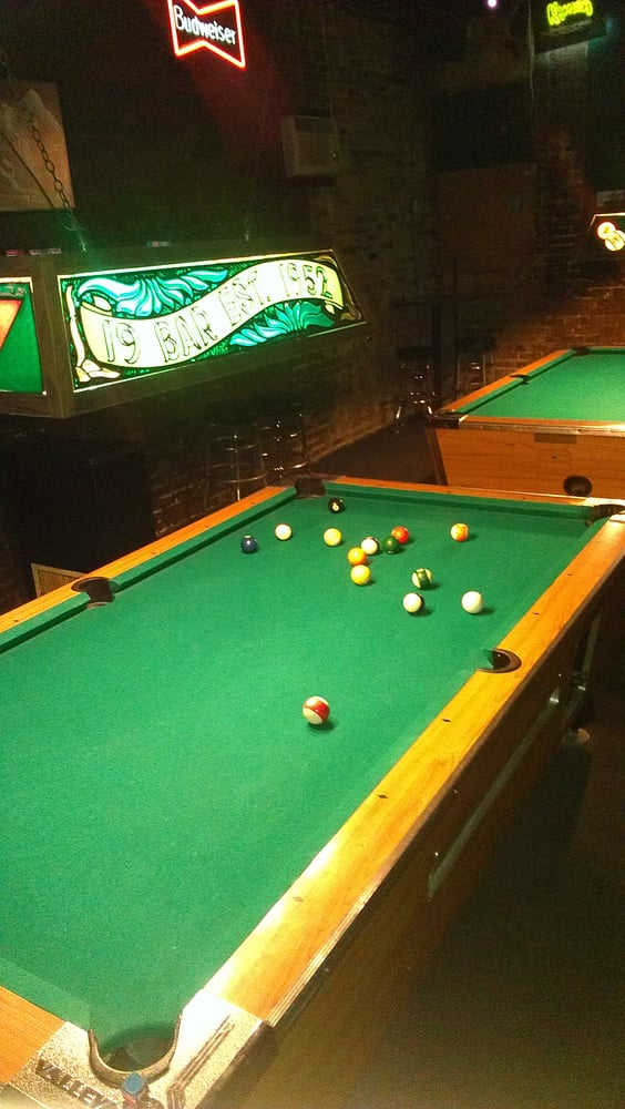 Please accord due respect to the pool table. - Yelp