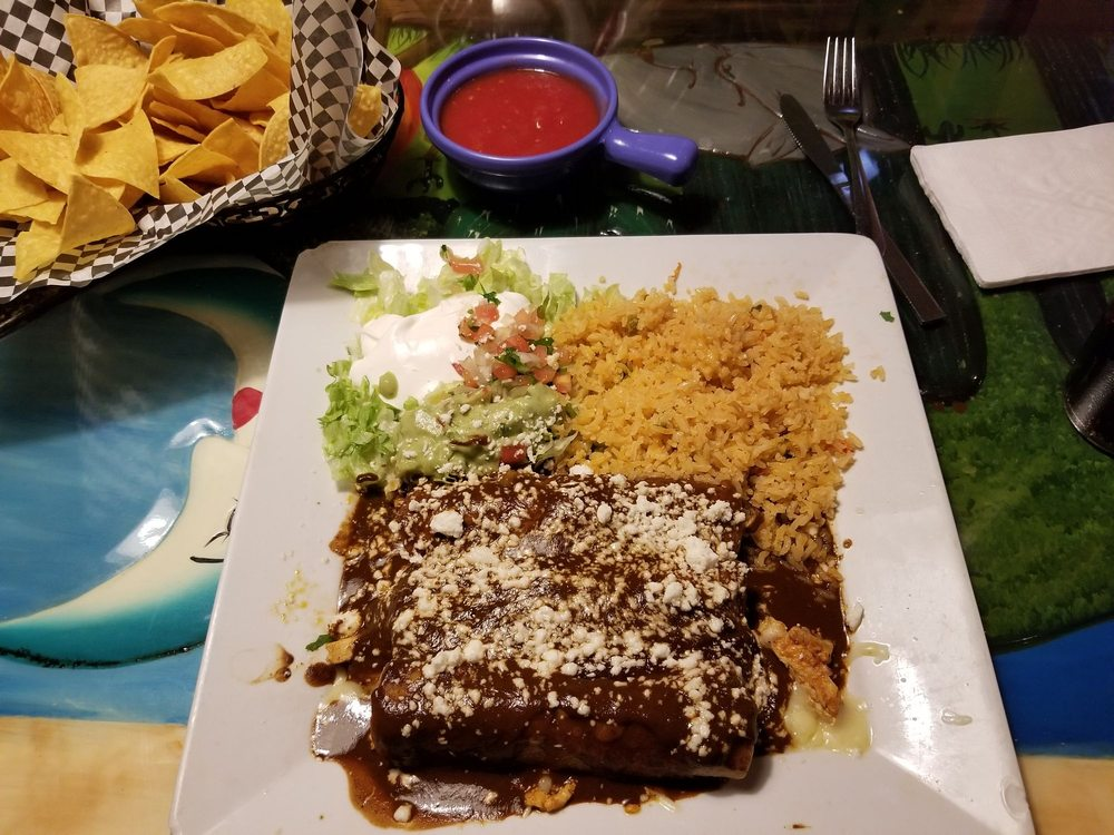 Poblanos Mexican Grill: 203 Pioneer Village Dr, Mountain City, TN