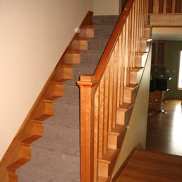 Photo Of Portland Stair Company   Portland, OR, United States. Carpet With  Tread