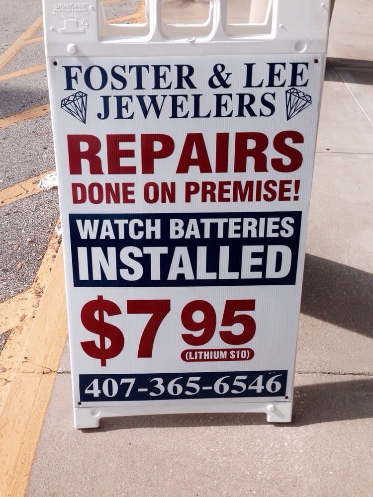 Foster & Lee Jewelers: 2200 Winter Springs Blvd, Oviedo, FL