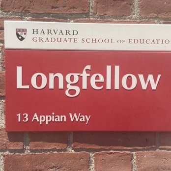 Harvard Graduate School of Education - 13 Appian Way