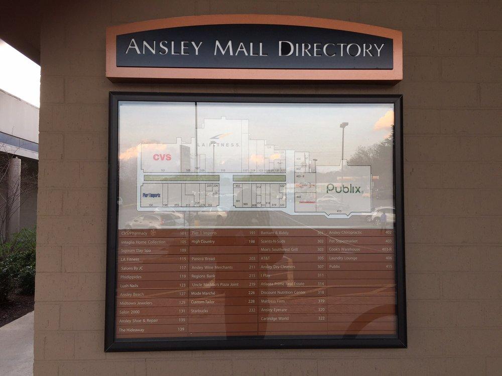 Ansley Mall: 1544 Piedmont Ave NE, Atlanta, GA