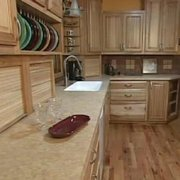 Delicieux Butcher Block Countertop Photo Of Starcraft Custom Builders   Lincoln, NE,  United States. Hickory Cabinets And ...