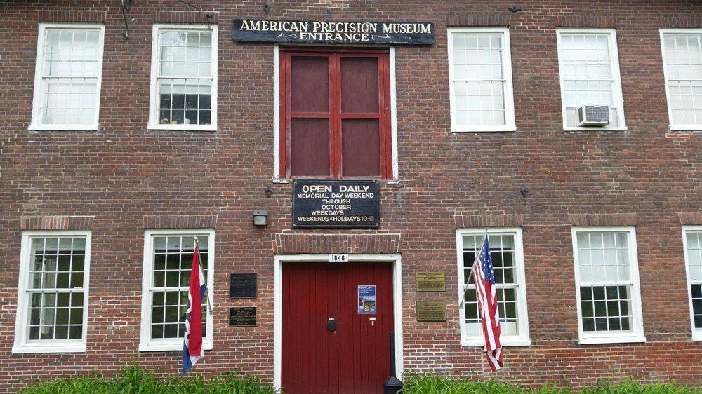 American Precision Museum: 196 Main St, Windsor, VT