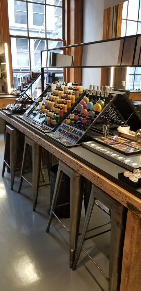 Photo of Mac Cosmetics - New York, NY, United States. Makeup selection