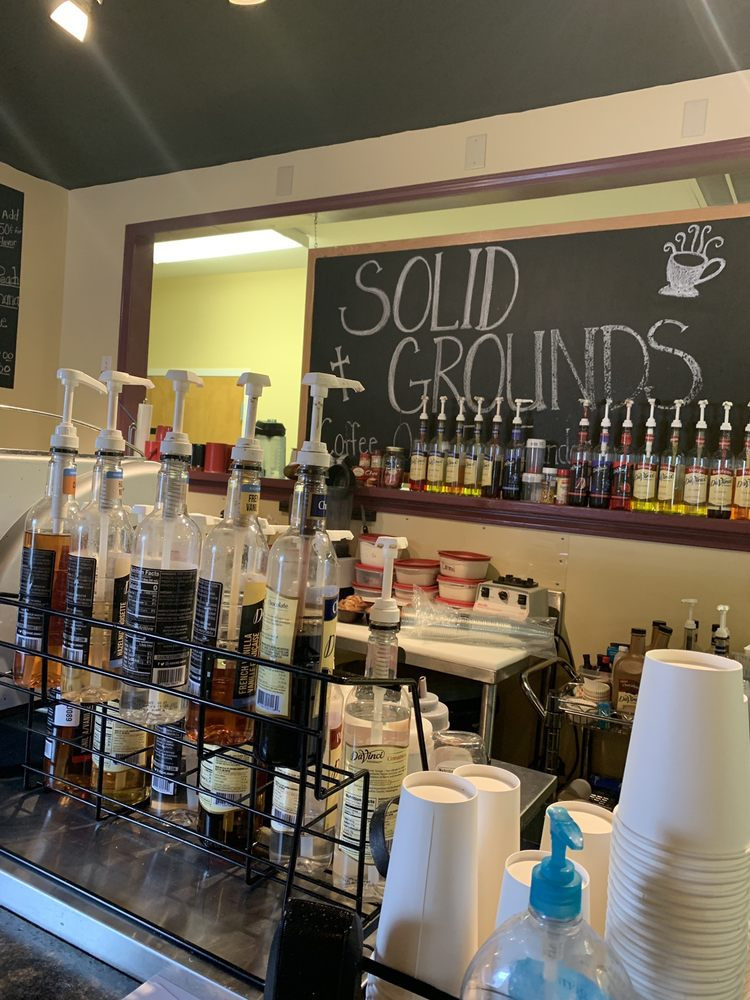 Solid Grounds Coffee Shop: 1169 Atkinson St, Turbeville, SC