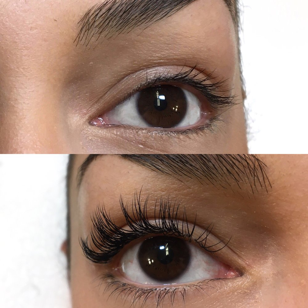 Before and After Classic Lash Extensions - Yelp