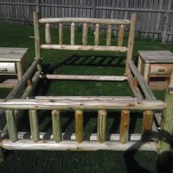 Photo Of Rustic Dan Custom Log Furniture   Cathcart, ON, Canada. Log Bedroom