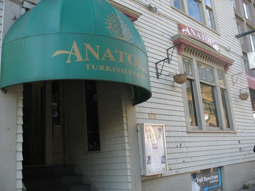 Anatolia turkish cuisine lukket mellem stlig 1518 for Anatolia turkish cuisine