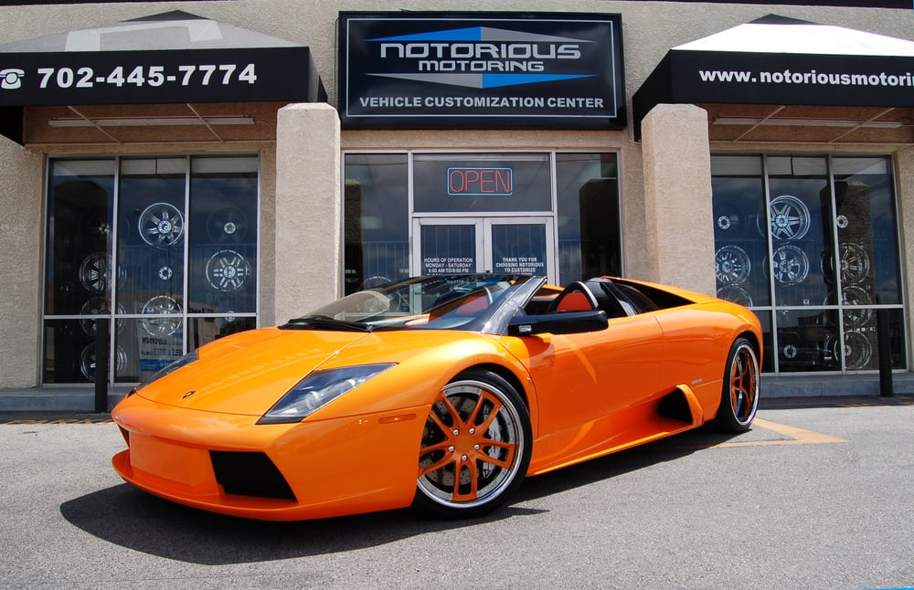Notorious Motoring - CLOSED - 25 Photos & 16 Reviews - Tires - 5835 W Flamingo Rd, Las Vegas, NV - Phone Number - Yelp