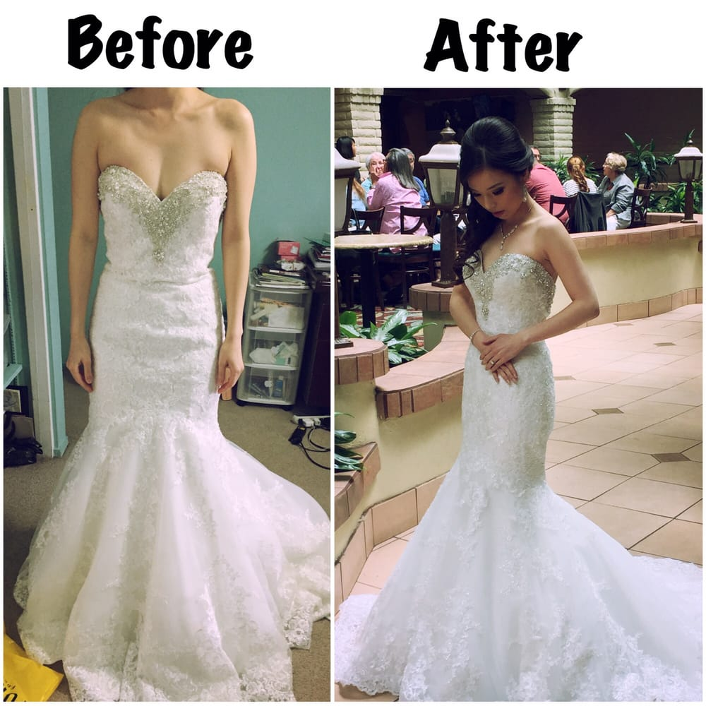 Alterations From 2000 Dreams Bridal Vs Alterations From