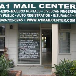 A1 Mail Center - CLOSED - Notaries - 2400 W Coast Hwy, Newport Beach