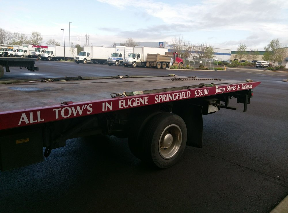 Towing business in Springfield, OR