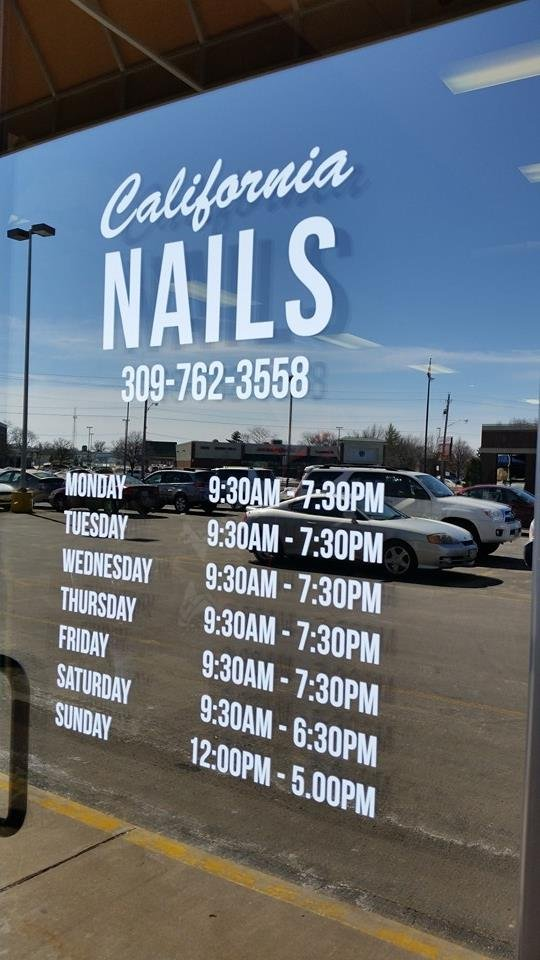 California Nails: 4011 Avenue Of The Cities, Moline, IL