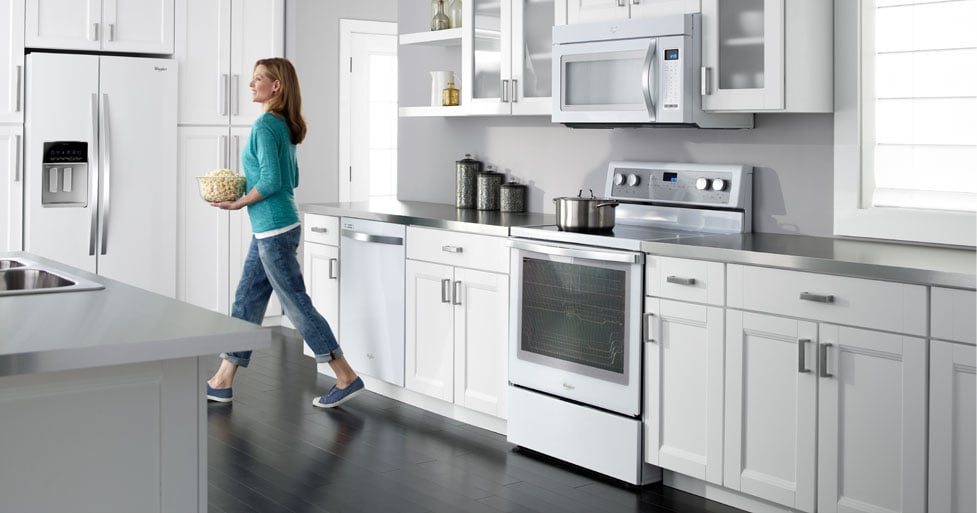Whirlpool White Ice Appliance Collection