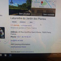Labyrinthe du Jardin des Plantes - Jardin botanique - Place ...