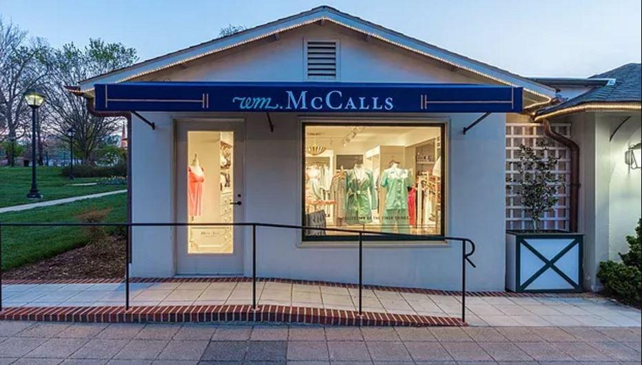 McCalls Reynolda Village: 109-111 Reynolda Village, Winston-Salem, NC