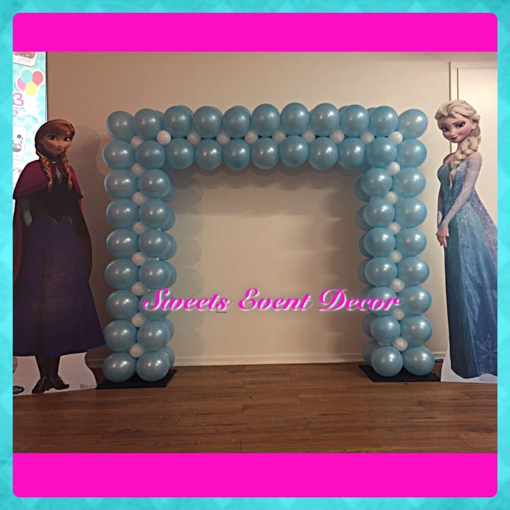 Frozen Theme Square Balloon Arch - Yelp
