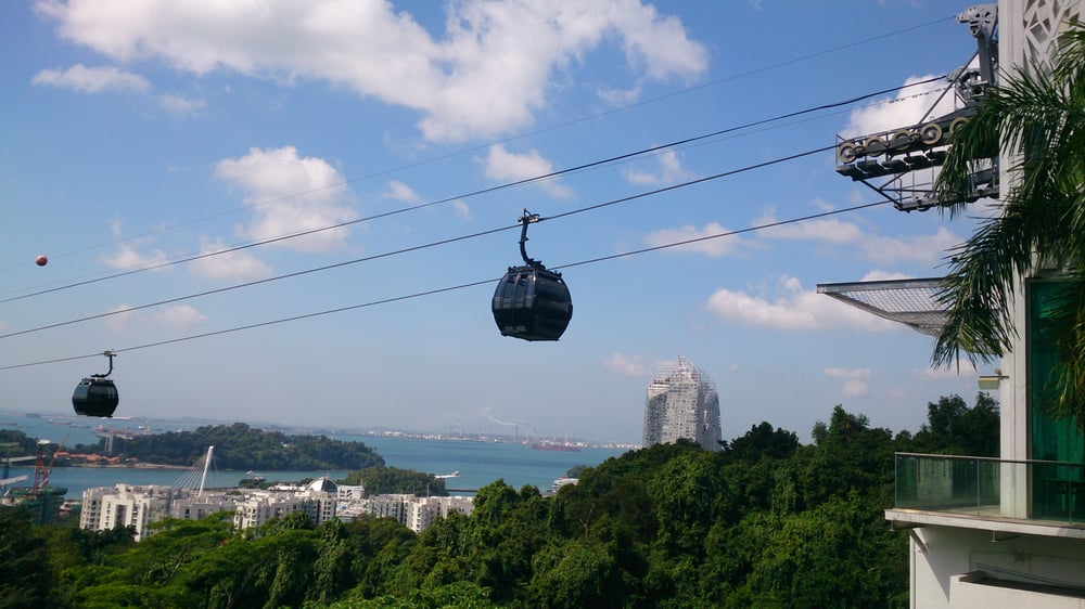 Cable Car Near O