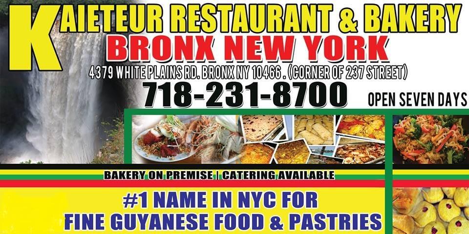 Kaieteur Restaurant Bronx Bronx Ny