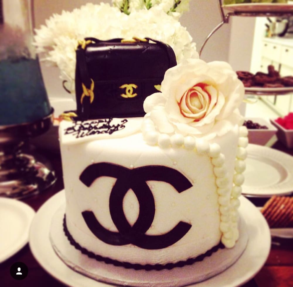 Loved my Chanel birthday cake! - Yelp