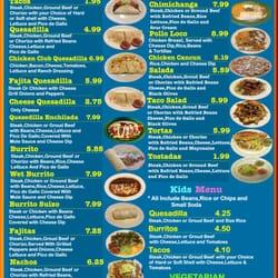 Don Lunas Mexican Restaurant Mexican 407 E Main St Marion Il