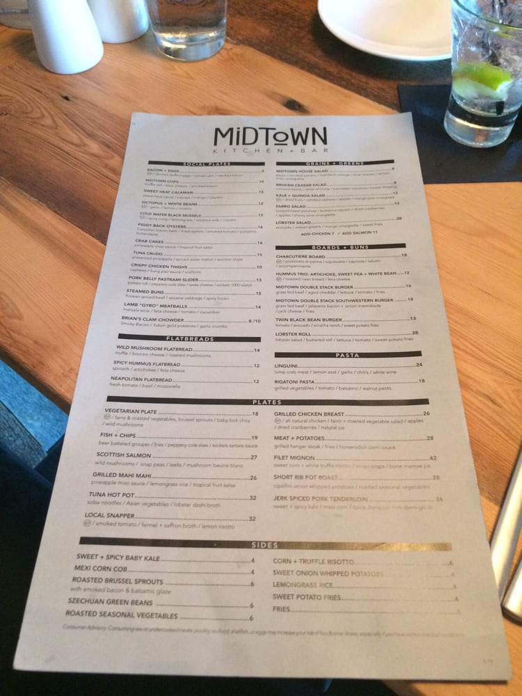 Midtown Kitchen And Bar Naples Fl