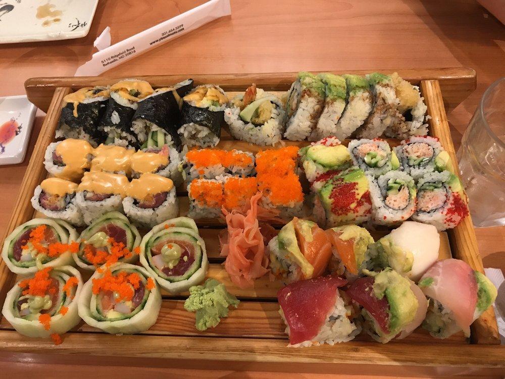 Yirasai Sushi & Cafe: 5110 Ridgefield Rd, Bethesda, MD