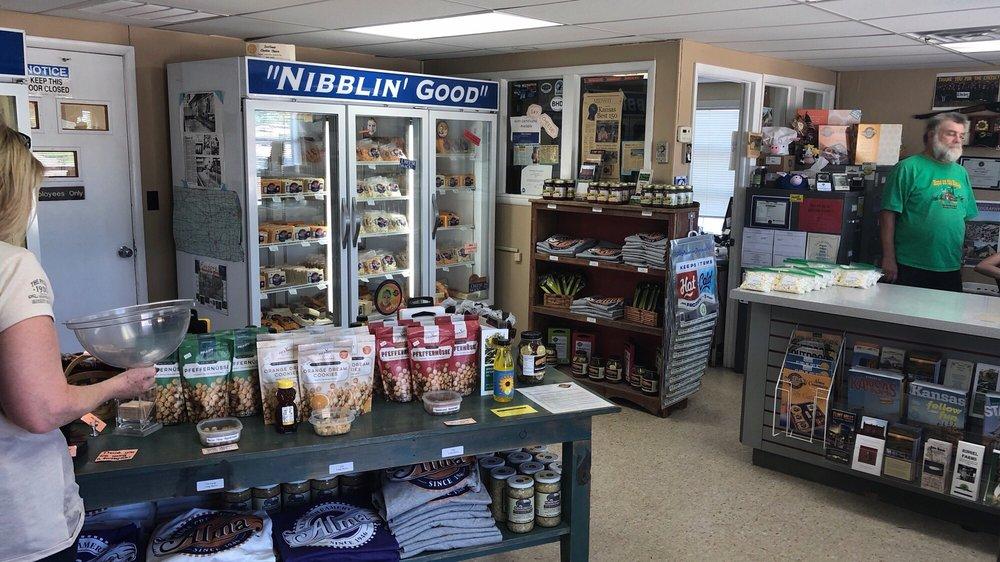 Alma Creamery: 509 E 3rd St, Alma, KS