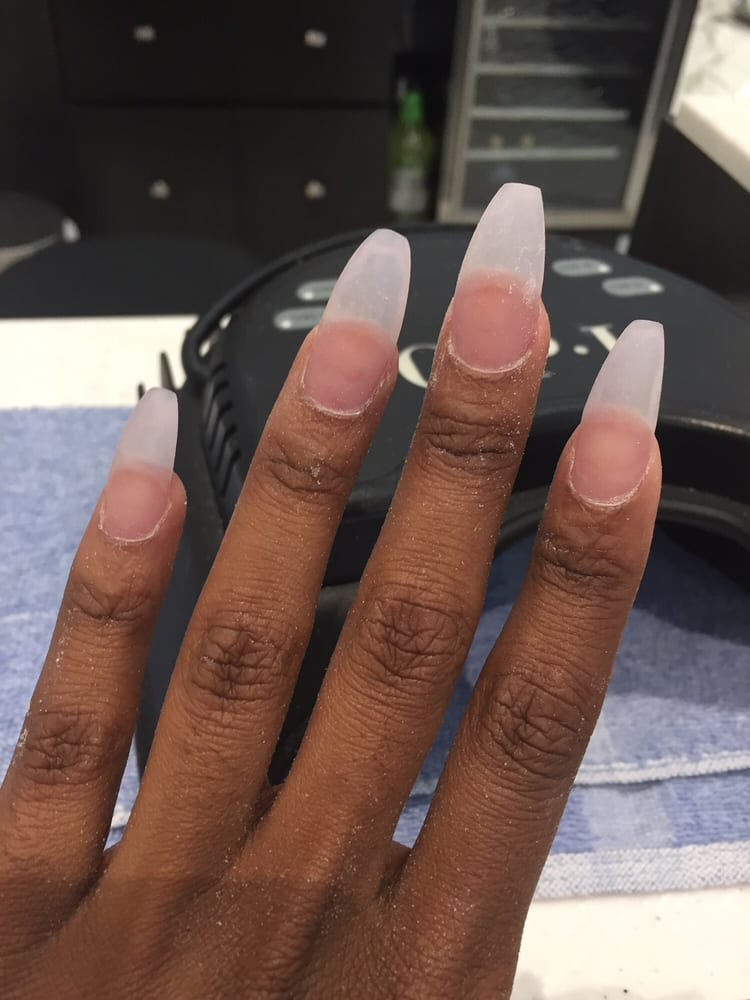 I asked for coffin nails. I filed my pointer and tried to file my ...