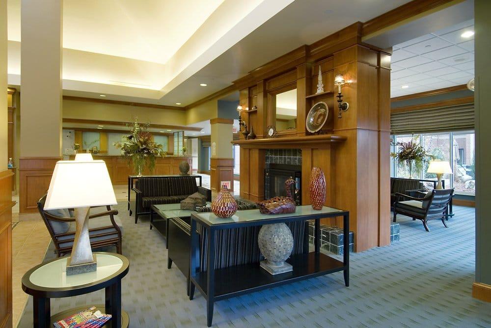Hilton Garden Inn Maple Grove Lobby Area Yelp