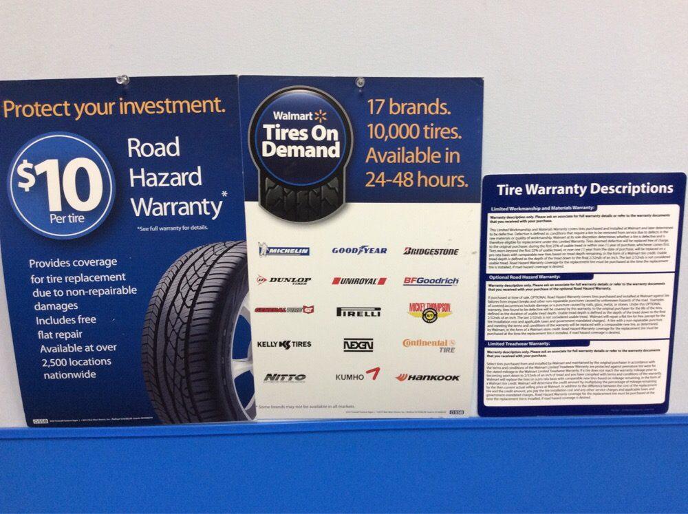 Walmart Tire Warranty Policy Yelp