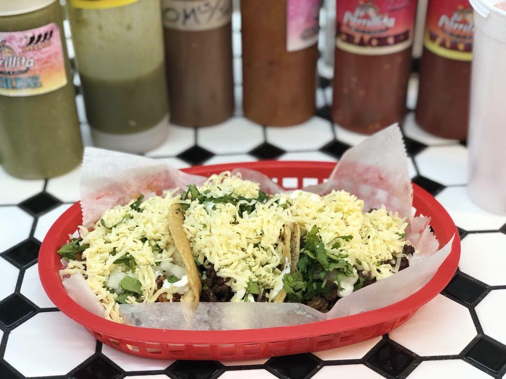 Food from La Parrillita Mexican Grill