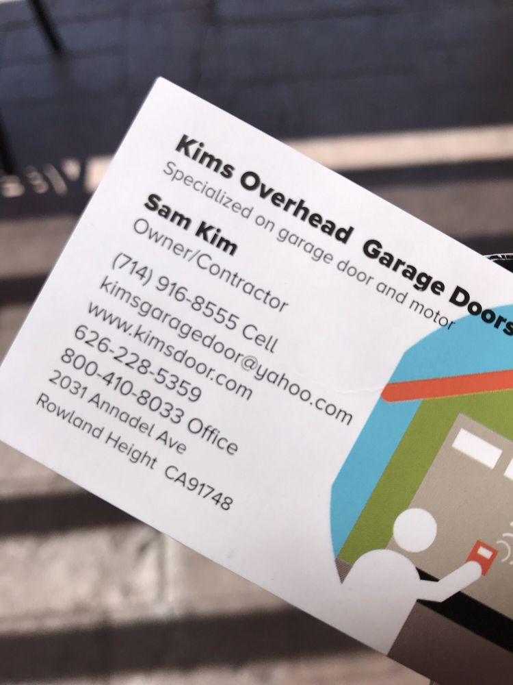 Kim's Overhead Garage Doors