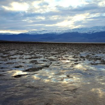 Photo of Badwater Basin - Death Valley, CA, United States. Badwater with a
