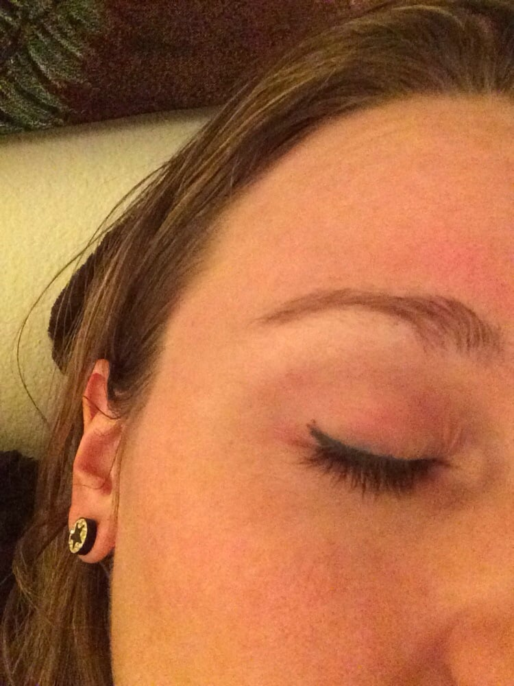 Messed Up Makeup: Messed Up Eyeliner Tattoo