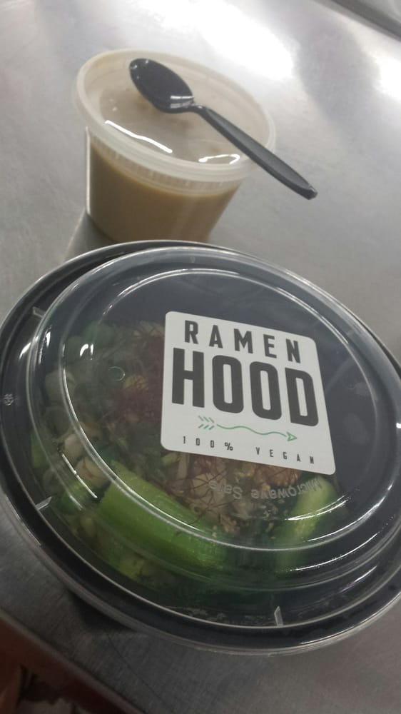 Ramen Hood - Los Angeles, CA, United States. To go.